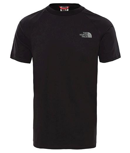 Pánske čierne tričko s krátkym rukávom The North Face