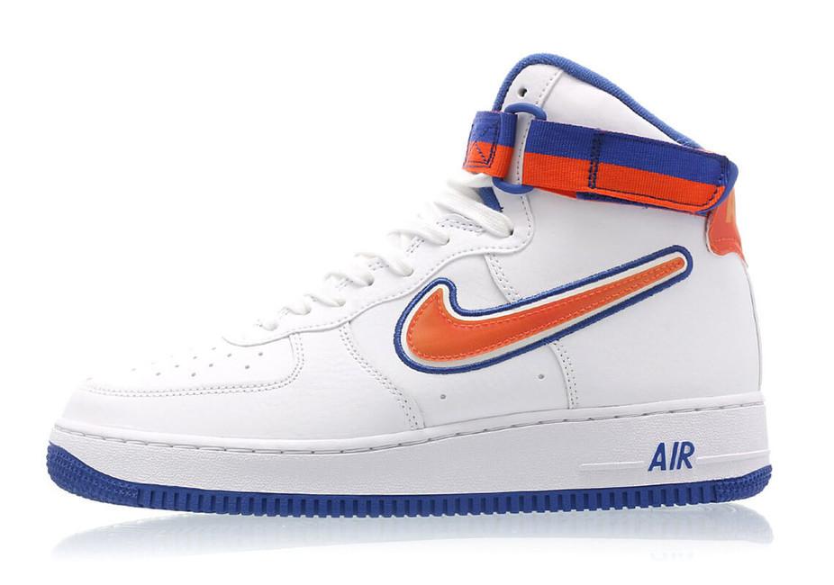 Pánske kotníkové tenisky Nike Air Force 1 High ´07 LV8 Sport NBA New York  Knicks 70de9273364