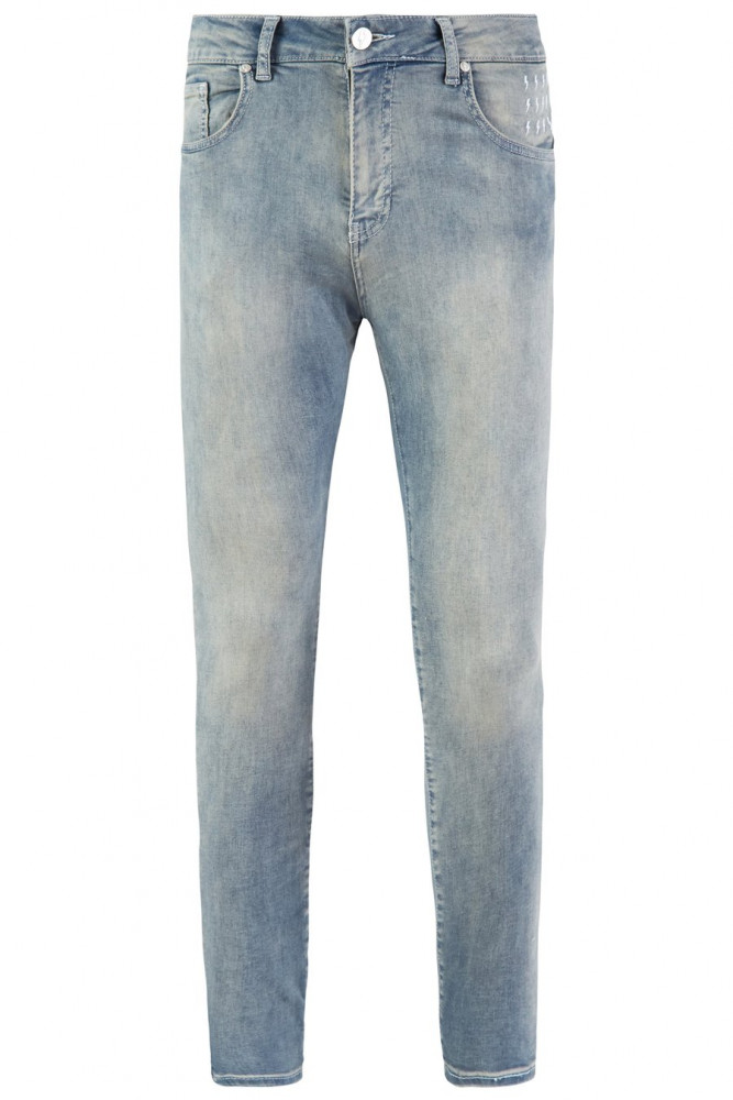 Pánske modré rifle ALIVE DENIM Essential Jeans - Pánske nohavice ... 0aae5fcc03