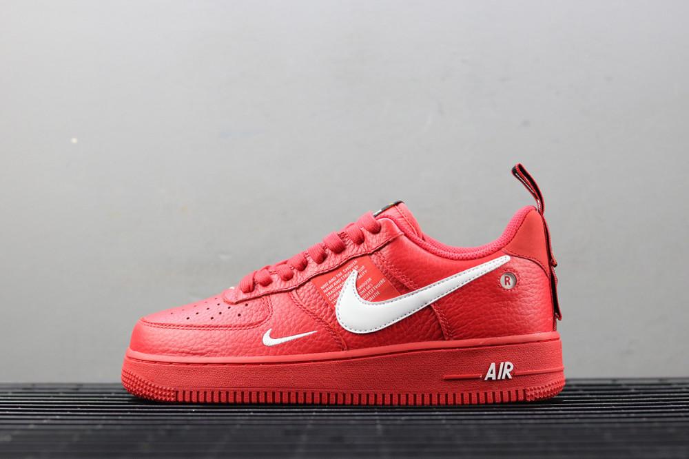 Pánske nízke tenisky Nike Air Force 1 07 LV8 Utility Orange - Pánske ... abe75bd5d7a
