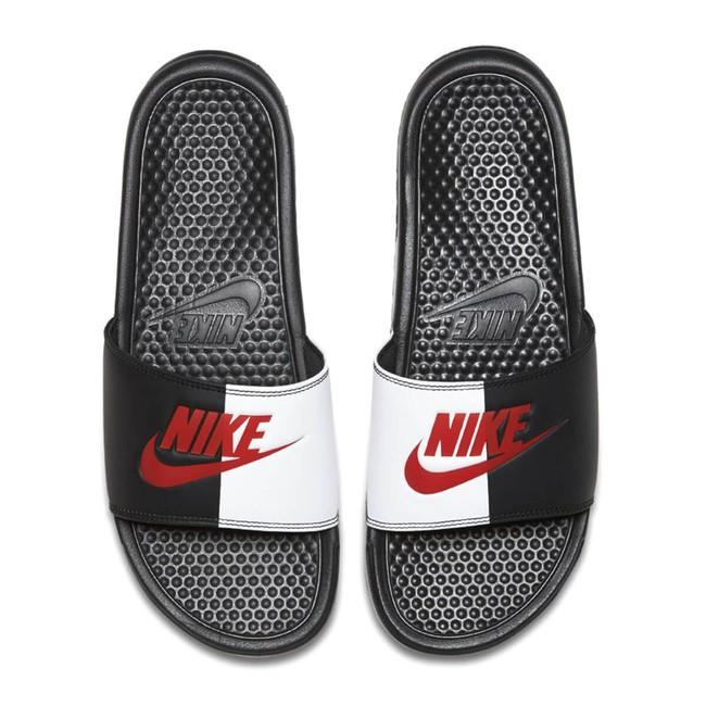 Pánske šľapky Nike Benassi Just Do It Black Game Red White - Pánske ... ef4110e4fd9