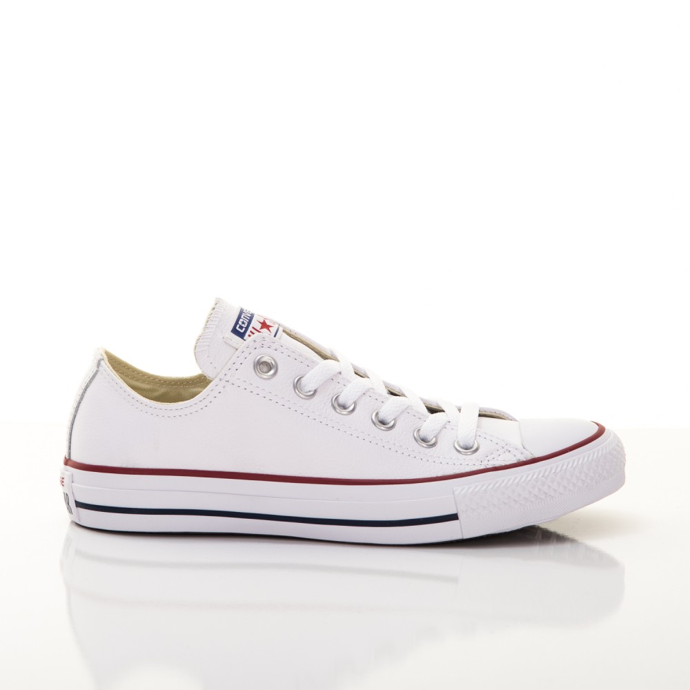 Pánske Tenisky Converse Chuck Taylor All Star Leather Low Top White ... d840153388d