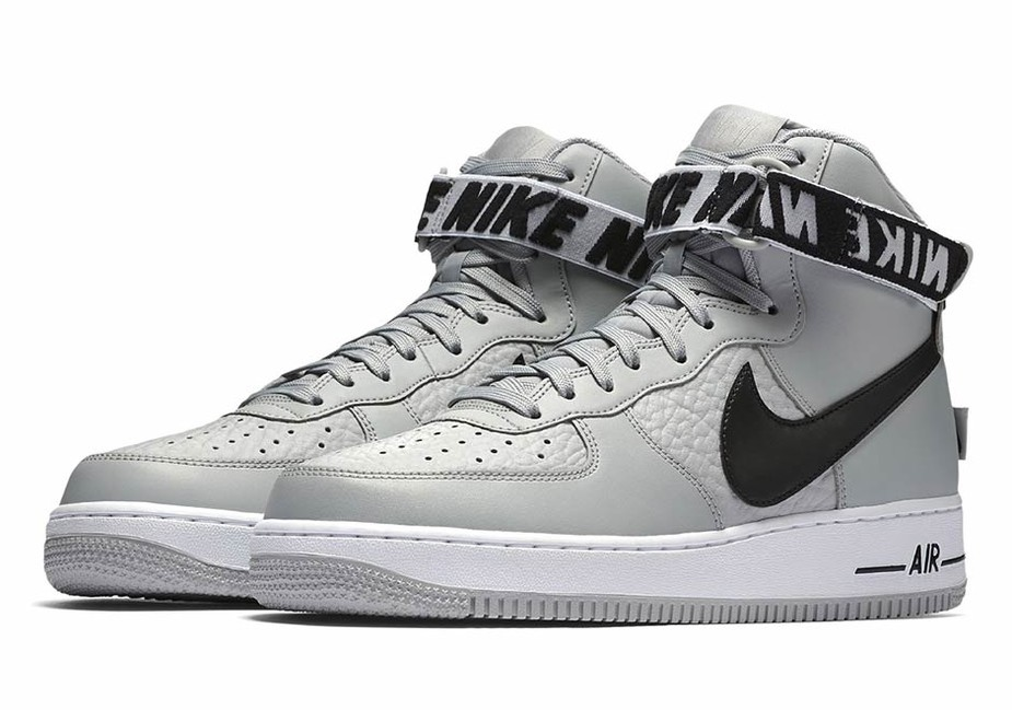 Pánske tenisky Nike Air Force 1 High `07 NBA Pack Grey Black ... b2ed2e8b394