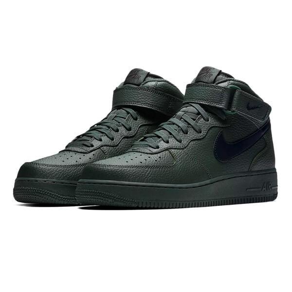 Pánske tenisky Nike Air Force 1 Mid `07 Green Black - Pánske tenisky ... 501676b5244