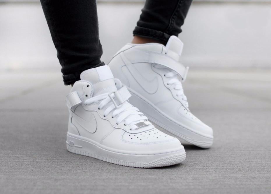Pánske tenisky Nike Air Force 1 Mid `07 White