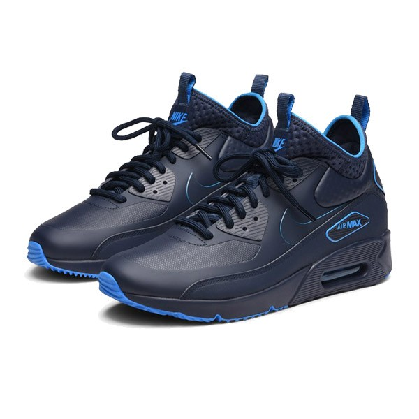 Pánske tenisky Nike Air Max 90 Ultra Mid Winter SE Navy Blue ... a5f9e3c6326