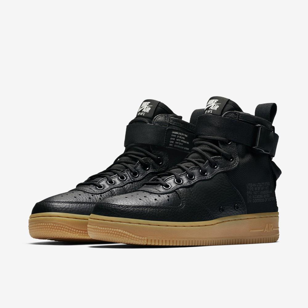 cdd86877bc0f2 Pánske tenisky Nike SF Air Force 1 Mid Black Gum - Pánske tenisky ...
