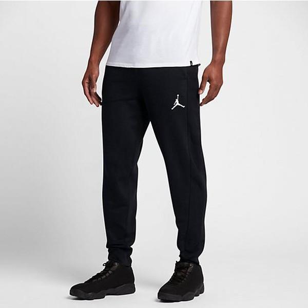 Pánske tepláky Air Jordan Flight Pant black White - Pánske nohavice ... f3b8f5f5492