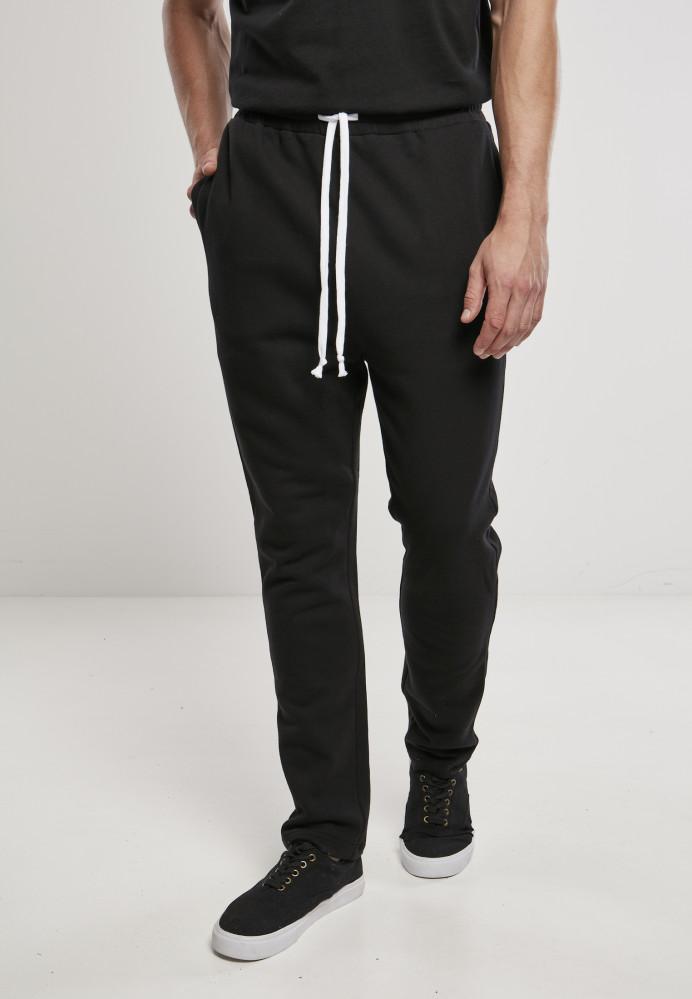 Pánske tepláky Urban Classics Organic Low Crotch black