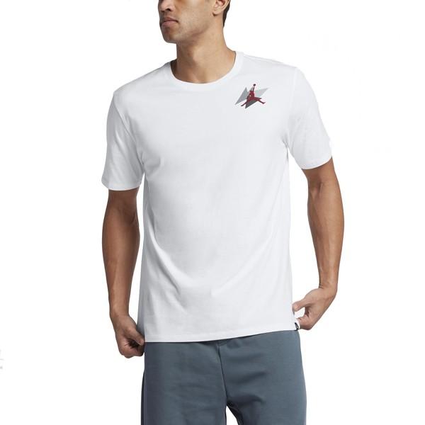 Pánske tričko Air Jordan Box T-shirt White Gym Red