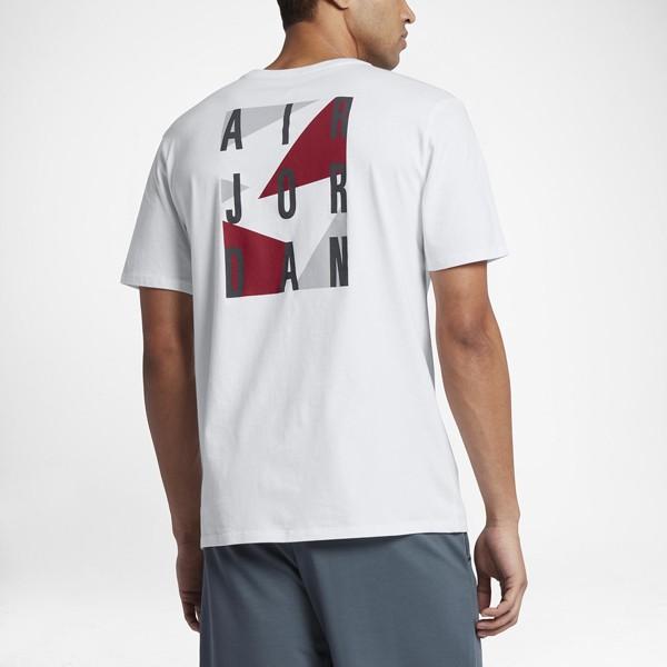 Pánske tričko Air Jordan Box T-shirt White Gym Red - Pánske tričká s ... 871933b19a