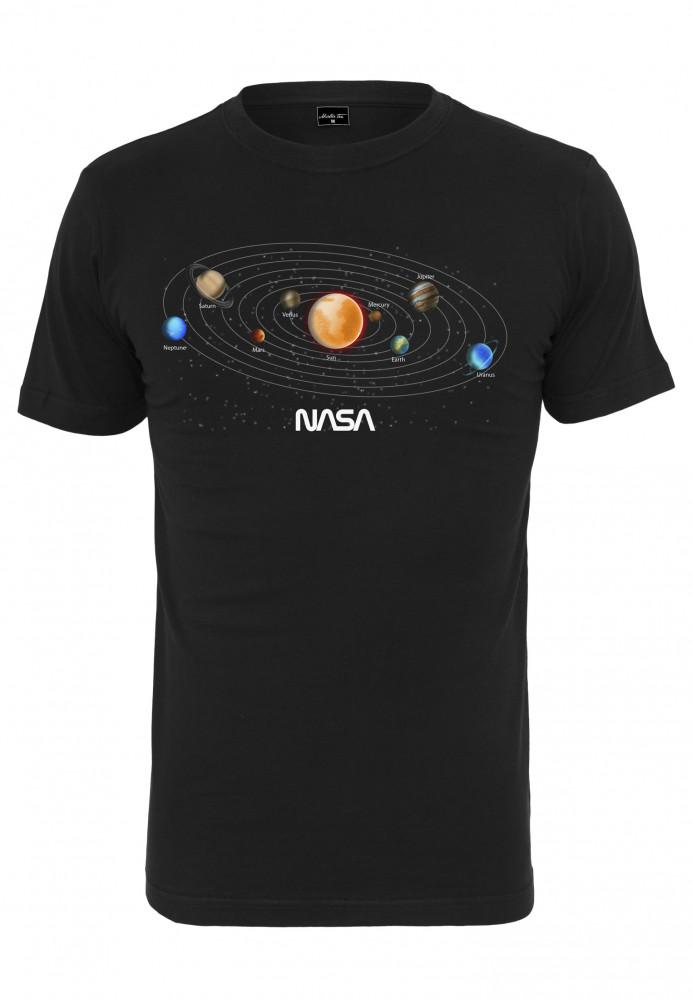 Pánske tričko MR.TEE NASA Space Tee Farba: black,