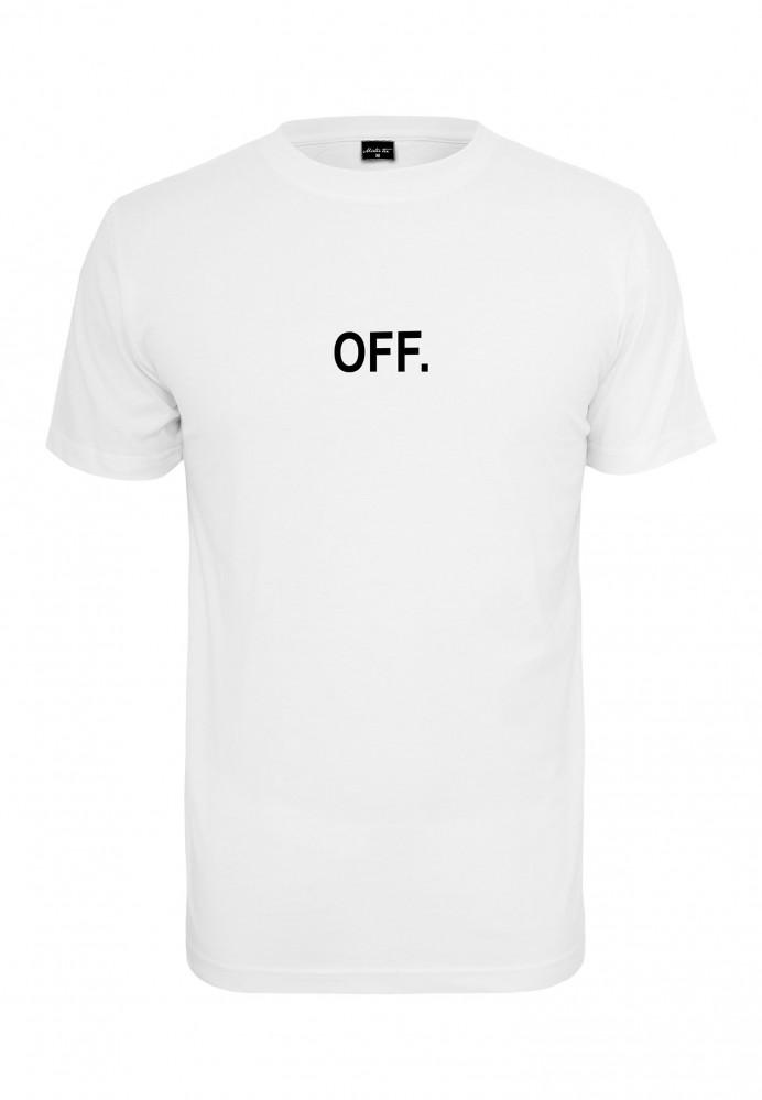 Pánske tričko MR.TEE OFF EMB Tee Farba: white,