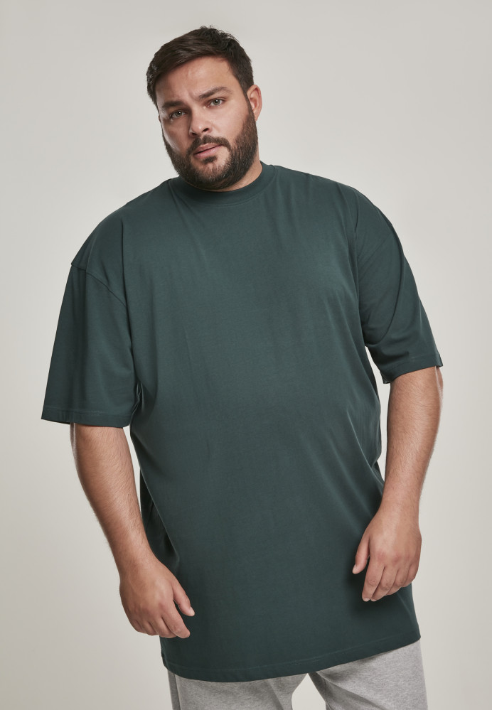 Pánske tričko s krátkym rukávom URBAN CLASSICS Tall Tee bottlegreen