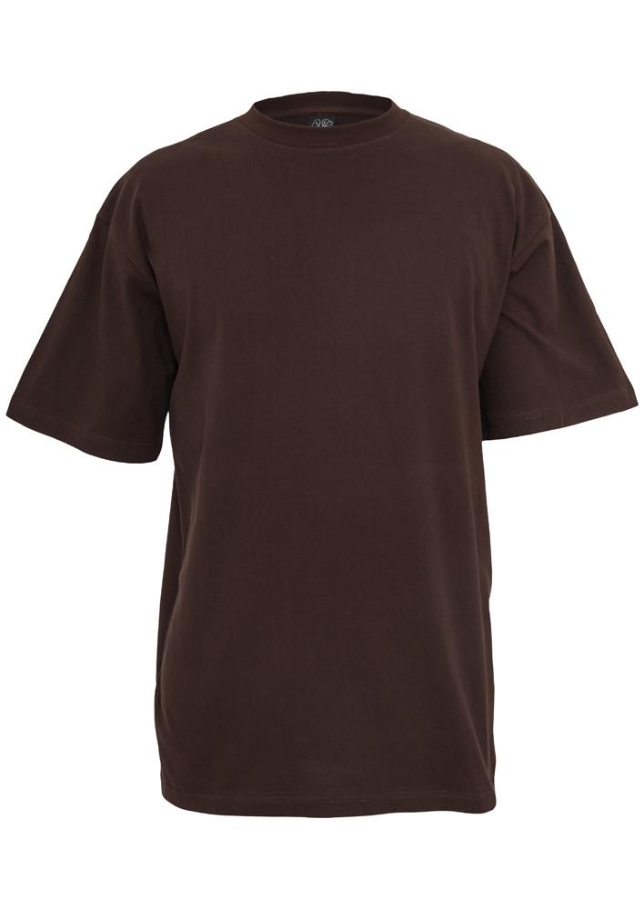 Pánske tričko s krátkym rukávom URBAN CLASSICS Tall Tee brown