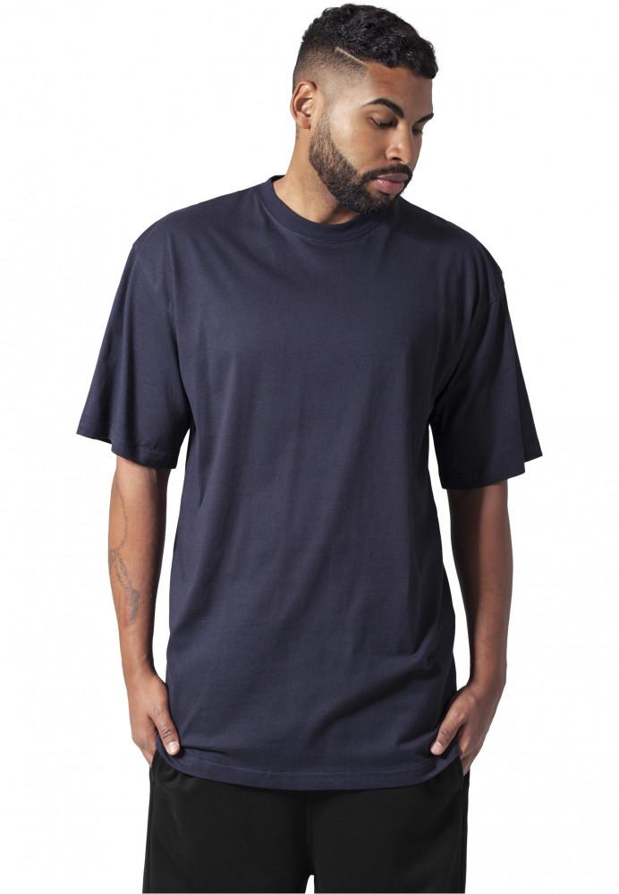 Pánske tričko s krátkym rukávom URBAN CLASSICS Tall Tee navy