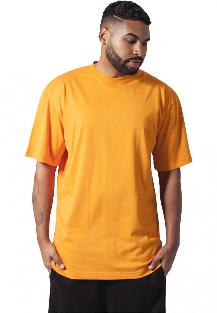 Pánske tričko s krátkym rukávom URBAN CLASSICS Tall Tee orange