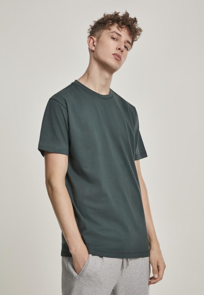 Pánske tričko URBAN CLASSICS Basic Tee bottlegreen