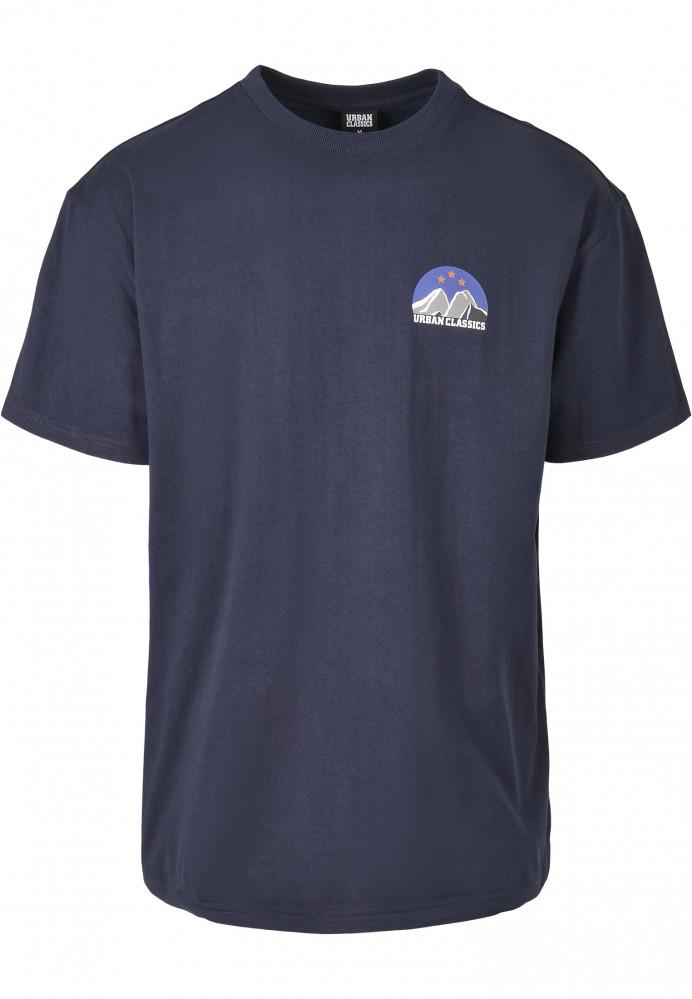 Pánske tričko URBAN CLASSICS Horizon Tee midnightnavy