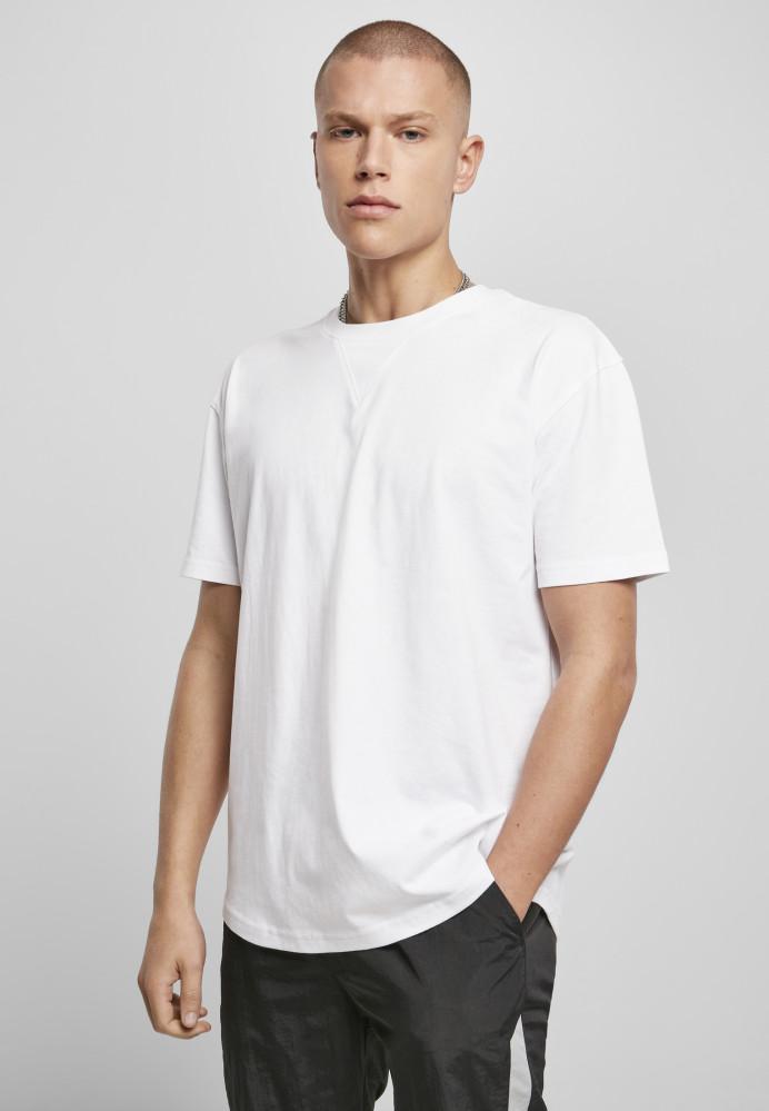 Pánske tričko URBAN CLASSICS Organic Cotton Curved Oversized white