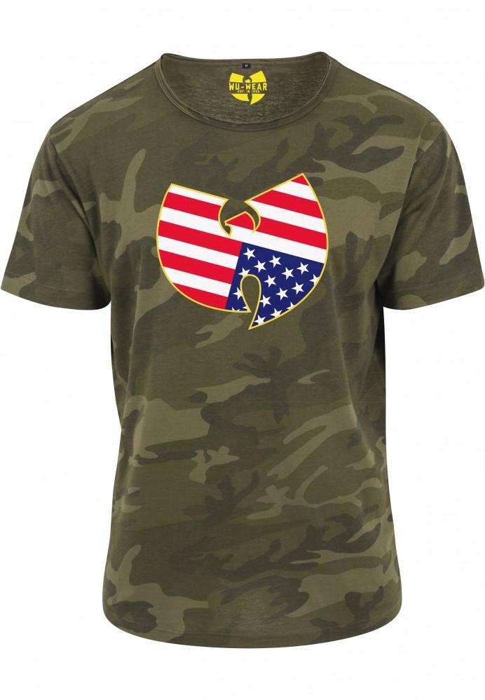 d20b638c375c Pánske tričko Wu-Wear American Camo Tee - Pánske tričká s krátkym ...