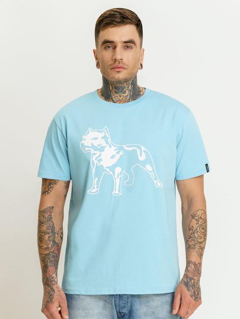Pánske tyrkysové tričko Amstaff Logo 2.0 T-Shirt Size: 3XL
