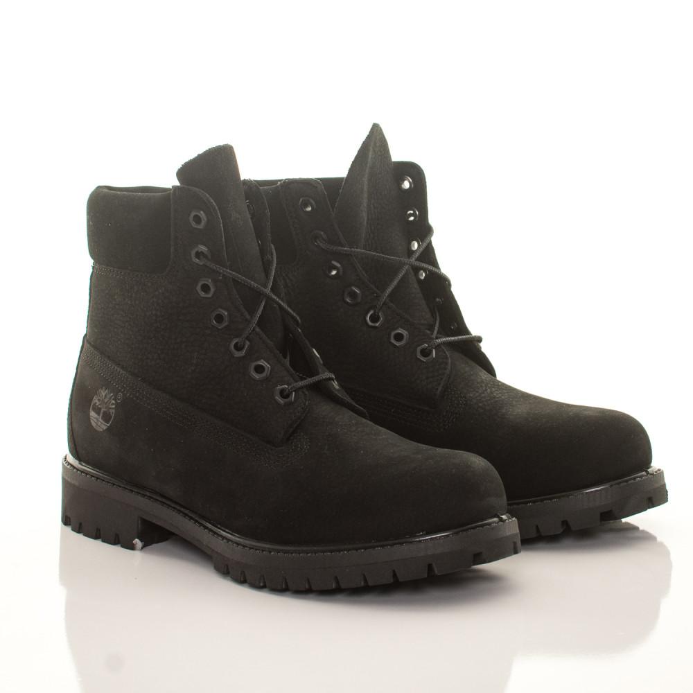 Pánske vodeodolné čierne zimné topánky Timberland 6-Inch Icon ... 19d499c1280