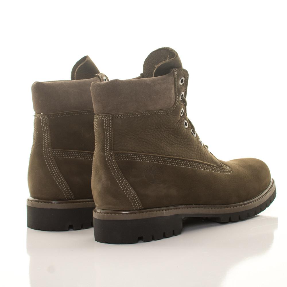 Pánske vodeodolné olivové zimné topánky Timberland 6-Inch Icon ... f61d40c10a3