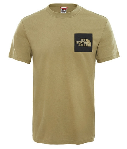 71265924b8b1 Pánske zelené tričko s krátkym rukávom The North Face - Pánske ...