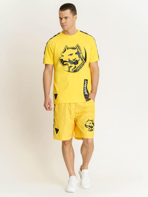 292ff6cf01aa Pánske žlté tričko Amstaff Antar T-Shirt Size  3XL - Pánske tričká ...