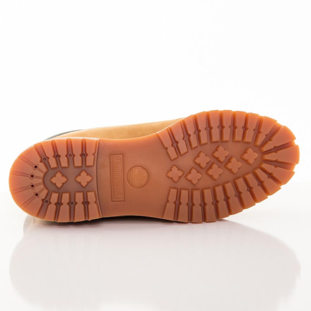 e63160dae6ae7 Pánske žlté vodeodolné kožené zimné topánky Timberland 6-INCH ...