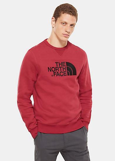 Pánsky bordový crewneck The North Face