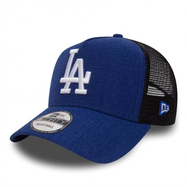 3c9295bd7 Šiltovka so sieťkou New Era 9Forty Trucker A-Frame Heather LA Dodgers Blue  Black