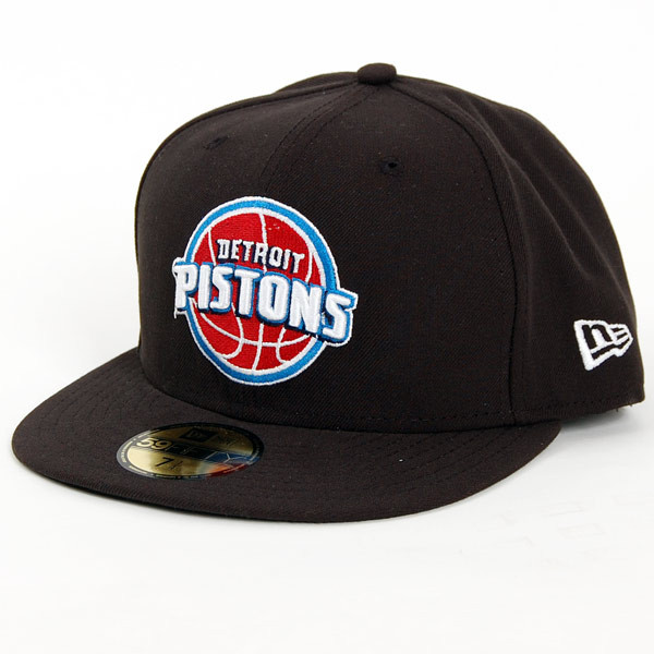 Snapback New Era NBA Seasonal Basic Detroit Pistons Cap