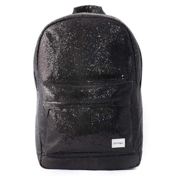 5d66b7047f Spiral Black Glamour Backpack Bag - UNI - Batohy
