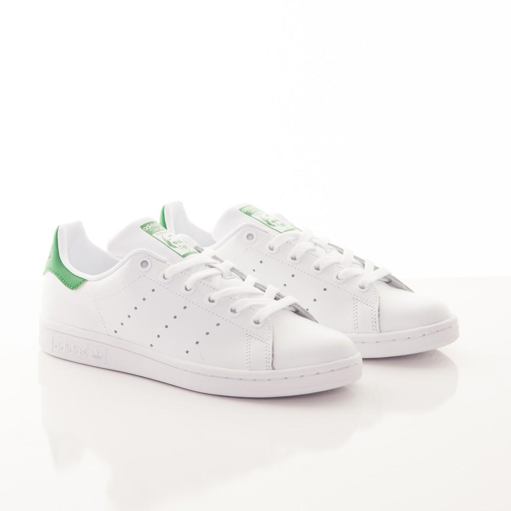 3baeeaf3c Tenisky Adidas Originals Stan Smith White Green - Dámske tenisky ...
