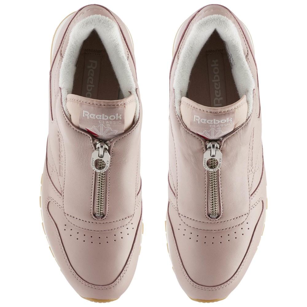 Tenisky Reebok Classic Leather Zip Pink - Dámske tenisky - Locca.sk 4f6c5de1e41