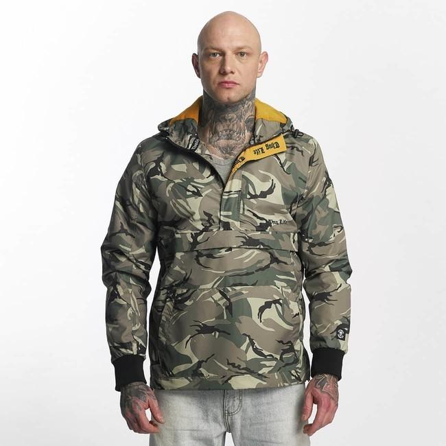 099b60194f4f Thug Life   Winter Jacket Threat in green - Rybárske bundy a vesty ...
