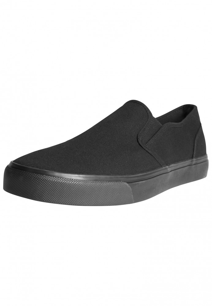 Unisex slip on Urban Classics Low Sneaker čierne