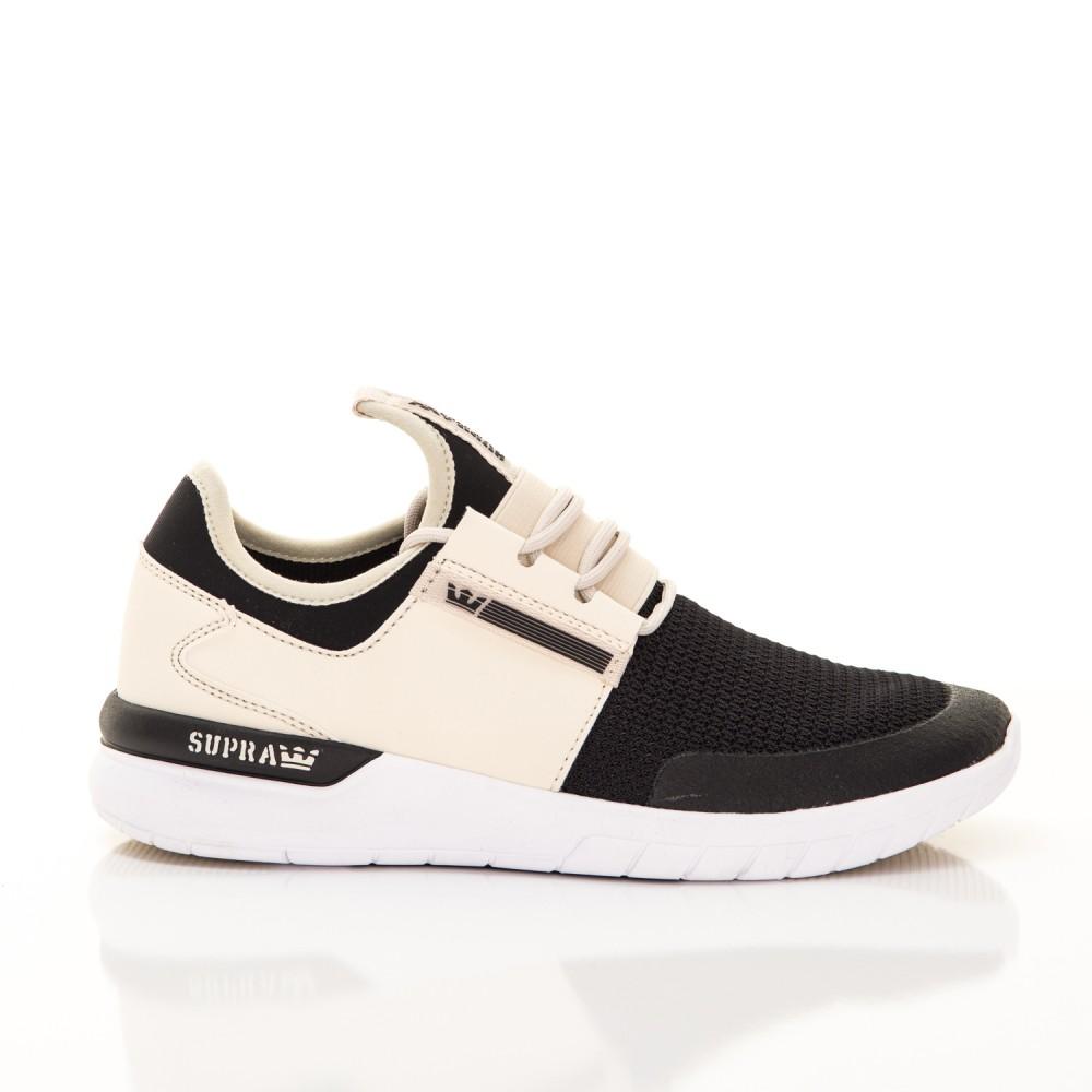 Unisex Tenisky Supra Flow Run Cream Black White - Pánske tenisky ... 4de4f1b2da1