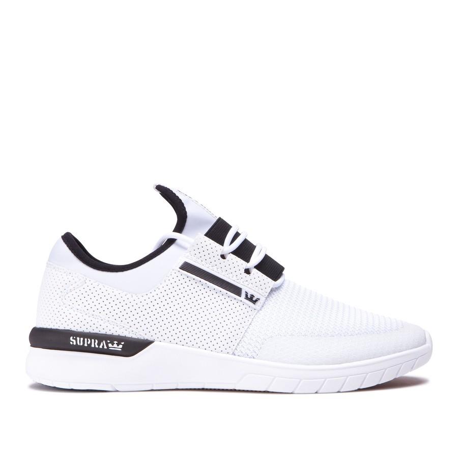 Unisex Tenisky Supra Flow Run White - Pánske tenisky - Locca.sk 4842ea7a273