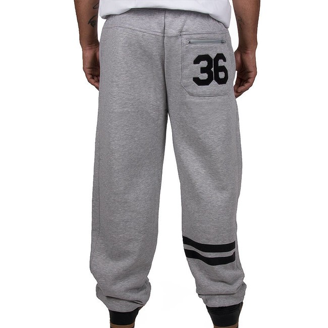 Wu-Wear Wu Tang Clan 36 WU Sweatpants Grey - Pánske nohavice - Locca.sk afeb44dd99b