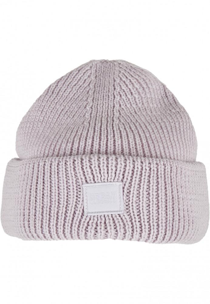 Zimná čiapka Urban Classics Knitted Wool lilac