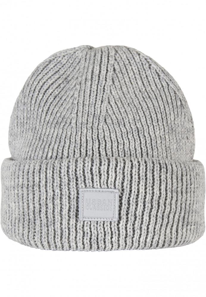 Zimná čiapka Urban Classics Knitted Wool šedá