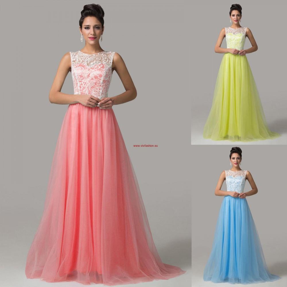 04e412583a3 Dlhé spoločenské šaty Selena 6225 - Spoločenské šaty dlhé - Locca.sk