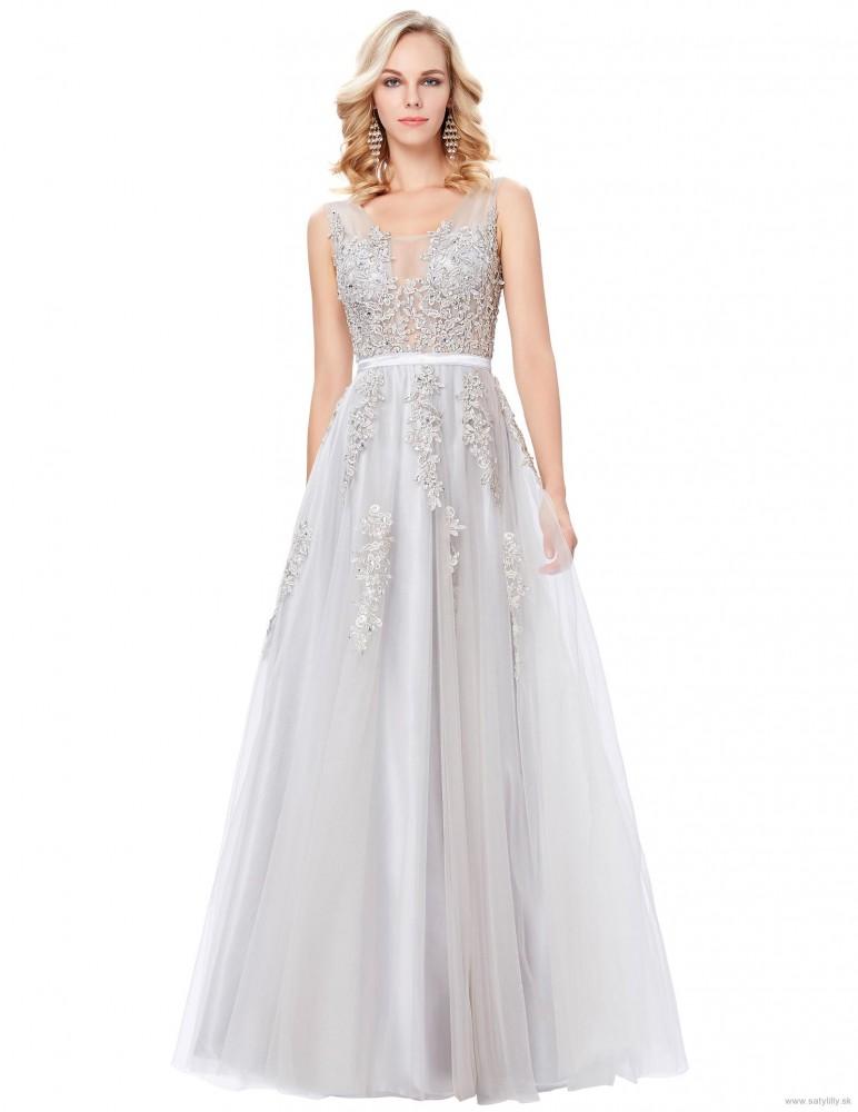 a9120712a1c0 Dlhé spoločenské šaty Selena 9130 - Spoločenské šaty dlhé - Locca.sk