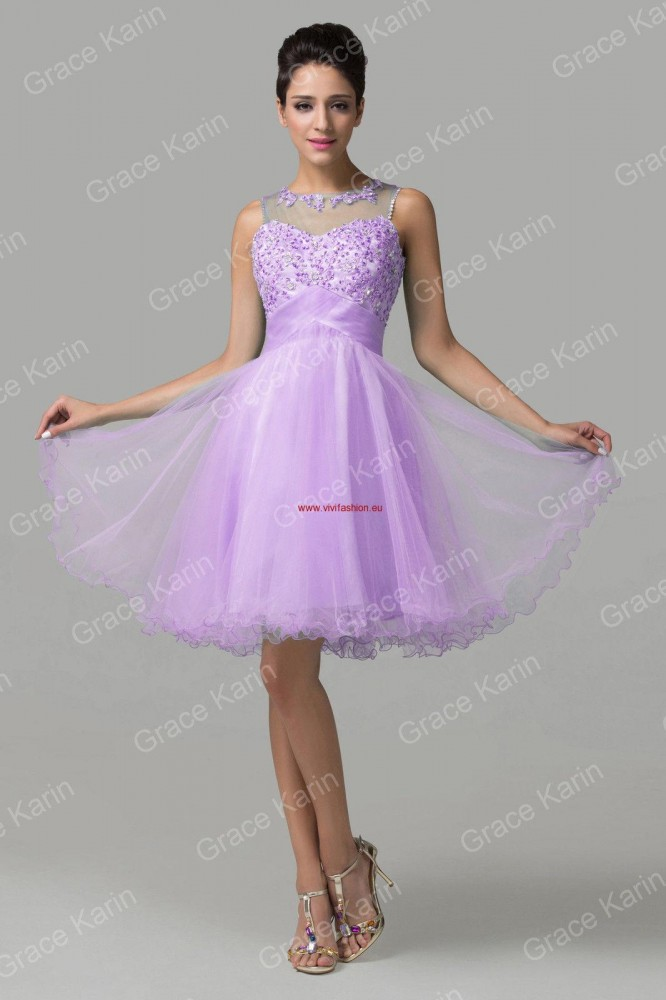 e70794774d7c Krátke spoločenské šaty Selena 1028 - Spoločenské šaty krátke - Locca.sk