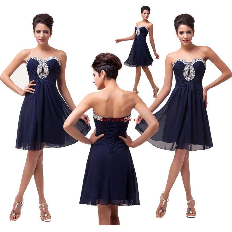 81455ebcbebc Krátke spoločenské šaty Selena 1114 - Spoločenské šaty krátke - Locca.sk