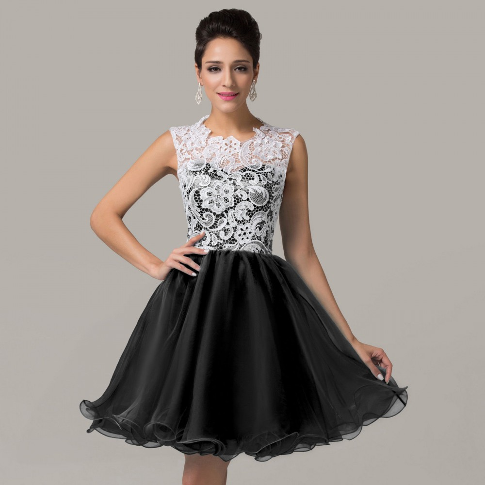 Krátke spoločenské šaty Selena 2144 - Spoločenské šaty krátke - Locca.sk 4c7a683f62c