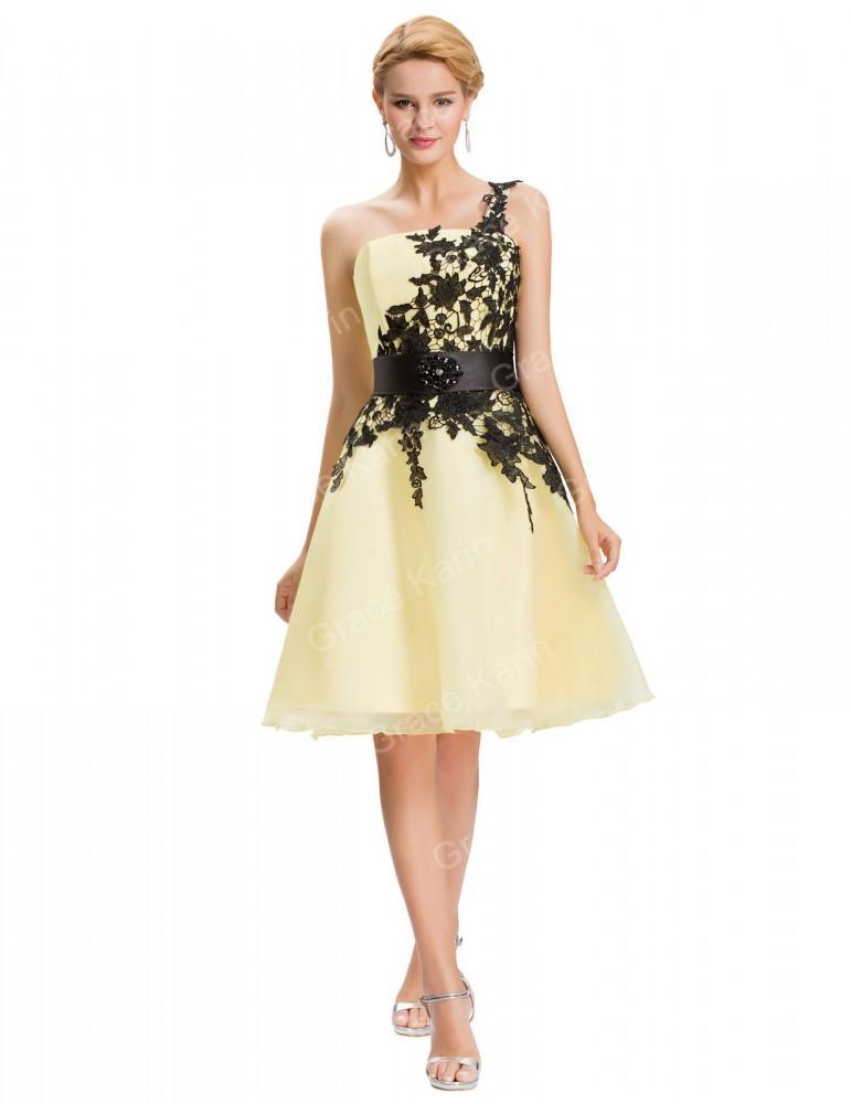 Krátke spoločenské šaty Selena 4141 - Spoločenské šaty krátke - Locca.sk 558de51b1d8